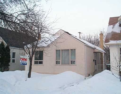 Main Photo: 591 SPRUCE Street in Winnipeg: West End / Wolseley Single Family Detached for sale (West Winnipeg)  : MLS(r) # 2502038
