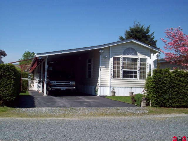"Main Photo: # 98 6035 VEDDER RD in Sardis: Sardis East Vedder Rd House for sale in ""SELOMAS MOBILE HOME PARK"" : MLS® # H1102252"