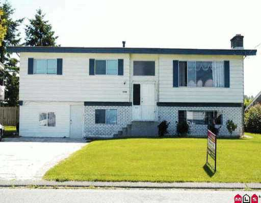 Main Photo: 32586 PANDORA AV in Abbotsford: Abbotsford West House for sale : MLS® # F2613198