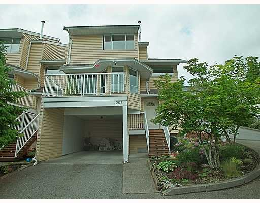 "Main Photo: 203 1176 FALCON Drive in Coquitlam: Eagle Ridge CQ Townhouse for sale in ""FALCON HILL"" : MLS® # V715631"