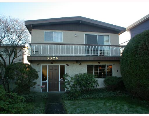 "Main Photo: 3326 SCHOOL Avenue in Vancouver: Killarney VE House for sale in ""KILLARNEY"" (Vancouver East)  : MLS(r) # V678323"
