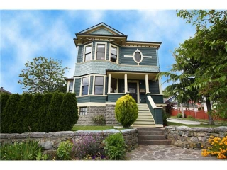 Main Photo: 815 MILTON ST in New Westminster: Uptown NW House for sale : MLS® # V840080