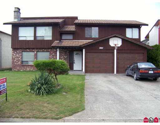 Main Photo: 2907 WILLBAND Street in Abbotsford: Central Abbotsford House for sale : MLS® # F2721937