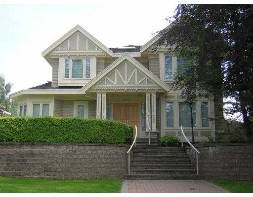 Main Photo: 6070 HUDSON Street in Vancouver: South Granville House for sale (Vancouver West)  : MLS® # V655819