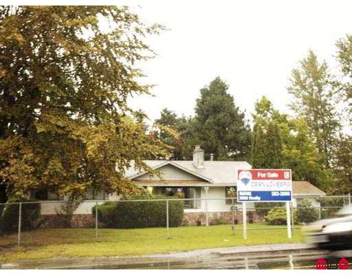 Main Photo: 18351 64TH Avenue in Surrey: Cloverdale BC House for sale (Cloverdale)  : MLS® # F2724948