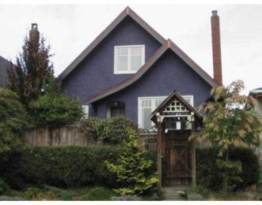 Main Photo: 1541 E 12TH AV in Vancouver: Grandview VE House for sale (Vancouver East)  : MLS®# V558473