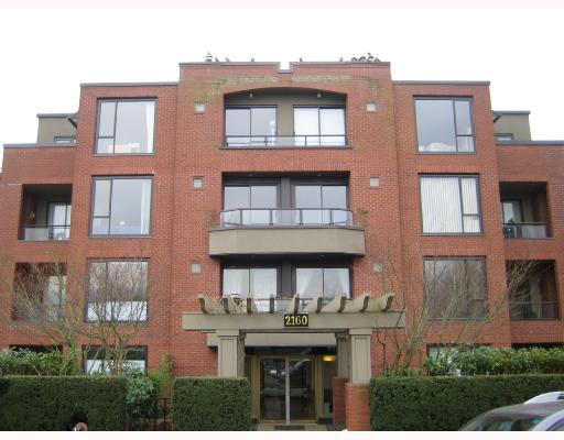 Main Photo: 303 2160 CORNWALL Avenue in Vancouver: Kitsilano Condo for sale (Vancouver West)  : MLS® # V685450