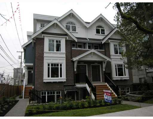Main Photo: 2838 SPRUCE Street in Vancouver: Fairview VW Townhouse for sale (Vancouver West)  : MLS®# V680147