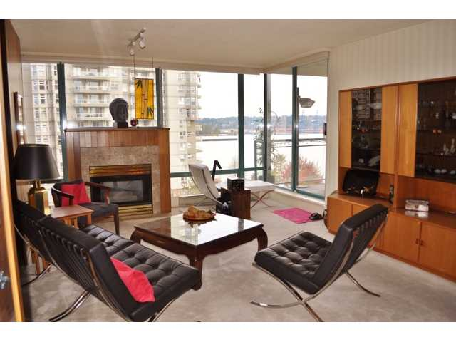 "Main Photo: # 702 8 LAGUNA CT in New Westminster: Quay Condo for sale in ""THE EXCELSIOR"" : MLS® # V918380"