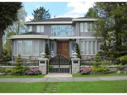 Main Photo: 6789 CYPRESS ST in Vancouver: Kerrisdale House for sale (Vancouver West)  : MLS® # V883591