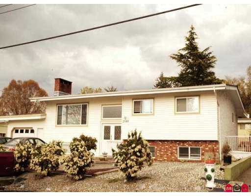 Main Photo: 2548 SUGARPINE Street in Abbotsford: Abbotsford West House for sale : MLS(r) # F2728114
