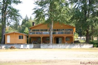 Main Photo: #2; 8758 Holding Road in Adams Lake: Waterfront with home House for sale : MLS(r) # 110447