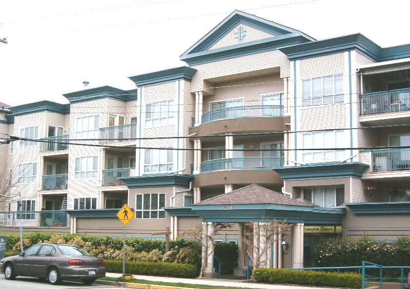 "Main Photo: # 108 - 20727 Douglas Crescent in Langley: Condo for sale in ""Joseph's Court"" : MLS(r) # F9415916"