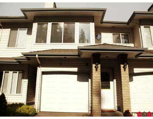 "Main Photo: 18 21579 88B Avenue in Langley: Walnut Grove Townhouse for sale in ""Carriage Park"" : MLS® # F2716232"