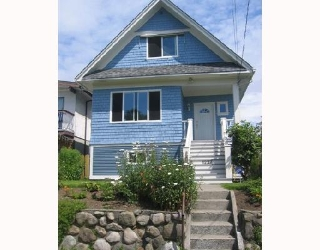 Main Photo: 1237 E 14TH Avenue in Vancouver: Mount Pleasant VE House for sale (Vancouver East)  : MLS® # V657021