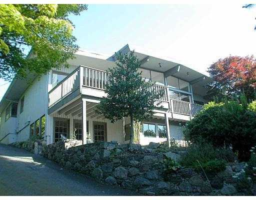 Main Photo: 889 FARMLEIGH RD in West Vancouver: British Properties House for sale : MLS® # V549196