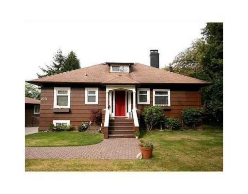 Main Photo: 2071 DUTHIE AV in Burnaby: House for sale (Burnaby North)  : MLS(r) # V832630