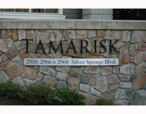 "Main Photo: 103 2968 SILVER SPRINGS Boulevard in Coquitlam: Westwood Plateau Condo for sale in ""TAMARISK AT SILVER SPRINGS"" : MLS® # V672702"