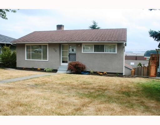 Main Photo: 112 SAPPER ST in New Westminster: House for sale : MLS® # V781379