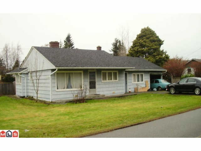 Main Photo: 12195 SULLIVAN ST in Surrey: Crescent Bch Ocean Pk. House for sale (South Surrey White Rock)  : MLS® # F1100089