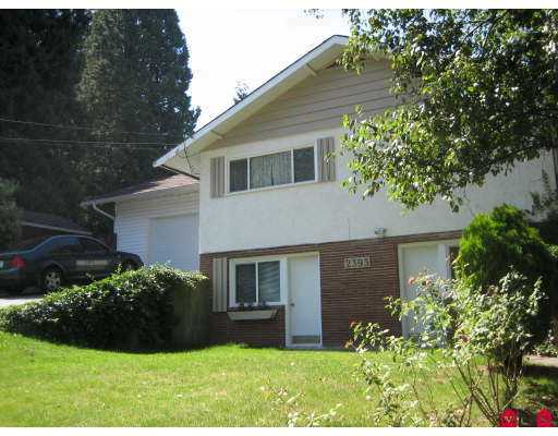 Main Photo: 2393 CLARKE Drive in Abbotsford: Central Abbotsford House for sale : MLS® # F2719191