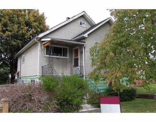 Main Photo: 3371 Napier Street in Vancouver: Renfrew VE House for sale (Vancouver East)  : MLS® # V789733