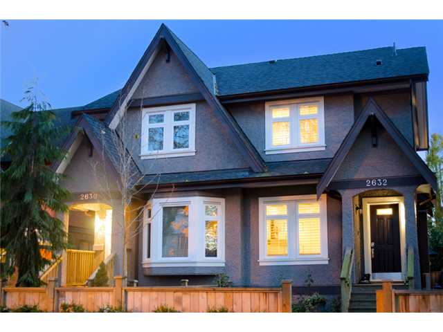 Main Photo: 2632 W 6th Avenue in Vancouver: Kitsilano House 1/2 Duplex for sale (Vancouver West)  : MLS® # V920084