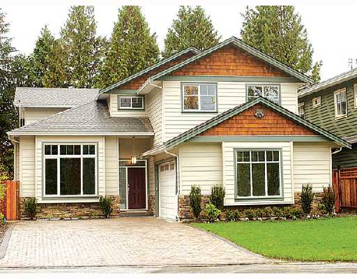 Main Photo: 2673 TERRACE Avenue in North_Vancouver: Capilano NV House for sale (North Vancouver)  : MLS® # V675281