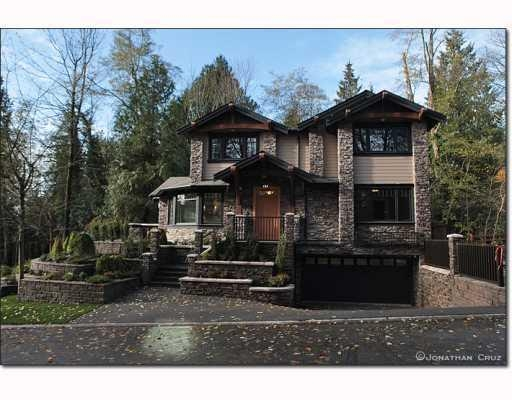 Main Photo: 1239 SINCLAIR CT in West Vancouver: House for sale : MLS® # V798134