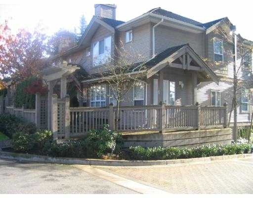 "Main Photo: 3 241 PARKSIDE DR in Port Moody: Heritage Mountain Townhouse for sale in ""PINEHURST"" : MLS® # V566219"