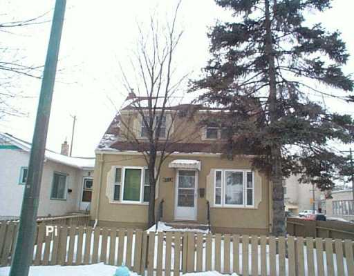 Main Photo: 884 WINNIPEG Avenue in Winnipeg: Brooklands / Weston Duplex for sale (West Winnipeg)  : MLS® # 2602488