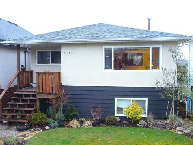 Main Photo: 4180 ST CATHERINES ST in Vancouver: Fraser VE House for sale (Vancouver East)  : MLS® # V875358