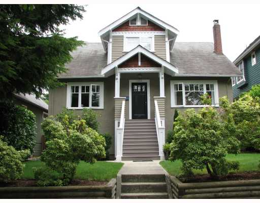 Main Photo: 4154 W 14TH Avenue in Vancouver: Point Grey House for sale (Vancouver West)  : MLS(r) # V667306