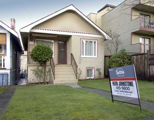 Main Photo: 2139 TRIUMPH Street in Vancouver: Hastings House for sale (Vancouver East)  : MLS® # V621626