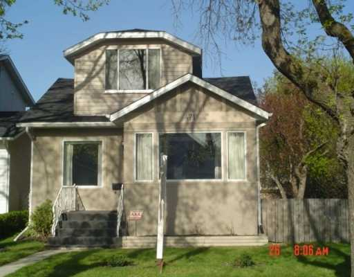 Main Photo: 471 RITCHOT Street in Winnipeg: St Boniface Single Family Detached for sale (South East Winnipeg)  : MLS® # 2605907