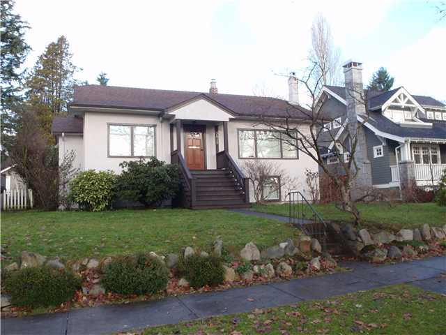 Main Photo: 3815 W 36 TH Avenue in VANCOUVER: Dunbar House for sale (Vancouver West)  : MLS® # V860844