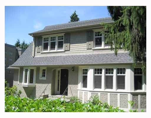 Main Photo: 4921 ANGUS Drive in Vancouver: Shaughnessy House for sale (Vancouver West)  : MLS® # V669272