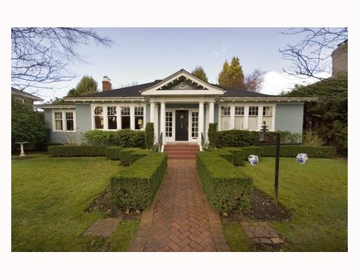 Main Photo: 1629 W 29TH Avenue in Vancouver: Shaughnessy House for sale (Vancouver West)  : MLS® # V696694