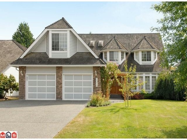 "Main Photo: 14460 18A Avenue in Surrey: Sunnyside Park Surrey House for sale in ""The Glens"" (South Surrey White Rock)  : MLS® # F1021975"
