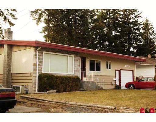 Main Photo: 2845 PRINCESS Street in Abbotsford: Abbotsford West House for sale : MLS®# F2919141