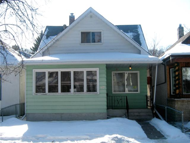 Main Photo: 504 Atlantic Avenue in WINNIPEG: North End Residential for sale (North West Winnipeg)  : MLS® # 1003406