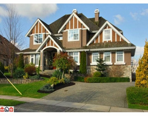 Main Photo: 15991 HUMBERSIDE Avenue in Surrey: Morgan Creek House for sale (South Surrey White Rock)  : MLS® # F1004607