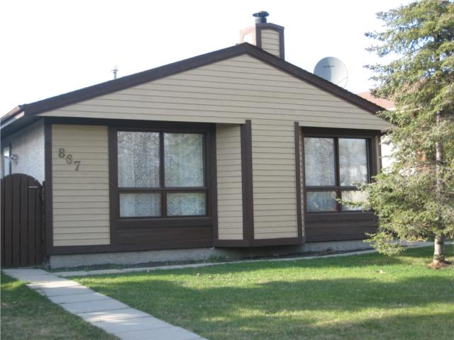 Main Photo: 867 Carrigan Place in WINNIPEG: Fort Garry / Whyte Ridge / St Norbert Residential for sale (South Winnipeg)  : MLS® # 1007353