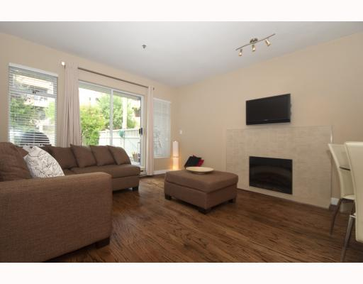 "Photo 3: 104 1265 W 11TH Avenue in Vancouver: Fairview VW Condo for sale in ""BENTLEY PLACE"" (Vancouver West)  : MLS® # V786392"