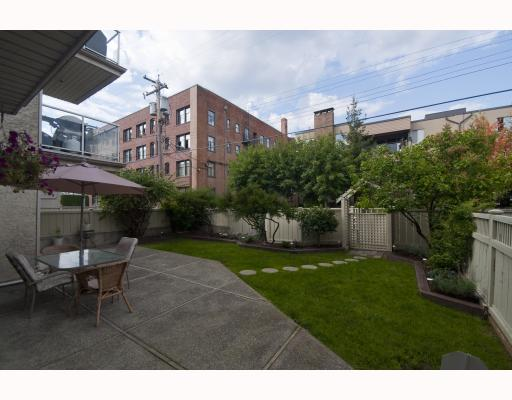 "Photo 10: 104 1265 W 11TH Avenue in Vancouver: Fairview VW Condo for sale in ""BENTLEY PLACE"" (Vancouver West)  : MLS® # V786392"