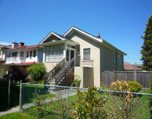 Main Photo: 765 E 27TH Avenue in Vancouver: Fraser VE House for sale (Vancouver East)  : MLS®# V769310