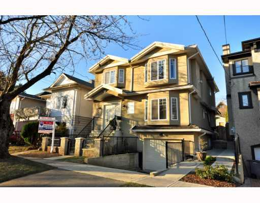 Main Photo: 4433 SOPHIA Street in Vancouver: Main House for sale (Vancouver East)  : MLS® # V800211