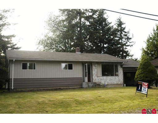 Main Photo: 2321 BAKERVIEW Street in Abbotsford: Abbotsford West House for sale : MLS(r) # F2911123