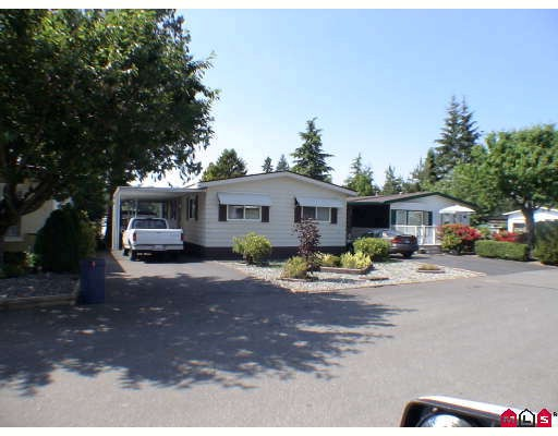 "Main Photo: 214 3665 244TH Street in Langley: Otter District Manufactured Home for sale in ""LANGLEY GROVE ESTATES"" : MLS® # F2912879"