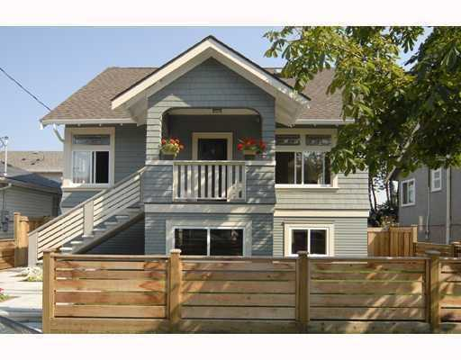 "Main Photo: 419 AUBREY Place in Vancouver: Fraser VE House for sale in ""MAIN STREET"" (Vancouver East)  : MLS®# V786331"